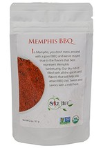 The Spice Hut Organic Memphis BBQ Seasoning, Southern Grilling Sweet & S... - $17.71
