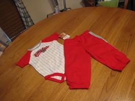Bambino Ragazzi Carter's 9 M Mesi Daddy's Casa Run Eroe Pantaloni Body Suit 2pc - $10.70