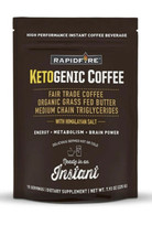 Rapid Fire Ketogenic Fair Trade Coffee Instant Mix 7.93 oz Bag 15 servin... - $14.80