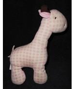 Baby Gund Naturally Gigi Giraffe White Pink Spots Plush Stuffed Animal 3... - $39.58
