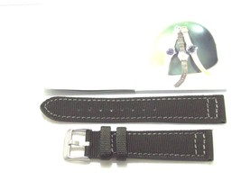 22MM QUALITY MILITARY WII STYLE CANVAS LEATHER ... - $20.23