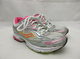 Saucony Grid Tornado 5 Runnning Shoes Women's Size 7.5 Silver and Pink - $28.01