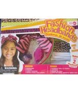 Fashion Headbands Kit Makes 2 Ages 6+ - $11.57