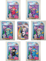 SET OF ALL 7 FINGERLINGS Gigi The Unicorn Pink Purple Turquoise White Bl... - $149.99
