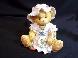 Cherished Teddies figurine Jenna You're Berry Special to Me Enesco 1995 ... - $5.86