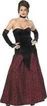 Crimson Vampira Adult Size Costume Large Clothes Size 14-16 - $39.99