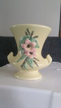 Vintage Pale Yellow McCoy Vase From The 1940's - $23.95