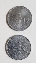 lot of 4 1984-1987 Mexico Jose M Morelos Facing Right Peso Copper-Nickel Coins - $4.95