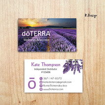 Doterra Business Card, Custom Doterra Business Cards, Doterra Cards, DT06 - $9.99