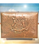 HAUNTED ROYAL COPPER BOX GOLDEN GLORY SUCCESS WEALTH EXTREME MAGICK SCHO... - $277.77