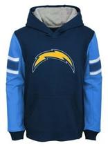 NFL LA Los Angeles Chargers Youth Boys M Hoodie Man In Motion Hooded Sweatshirt - $17.82