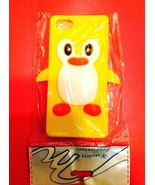 Yellow Penguin Silicon Soft Rubber Skin Case Cover For Apple iPhone 5 5S... - $2.96