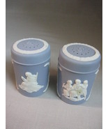 Blue Colonial Salt & Pepper Shakers Liberty Bel... - $9.99