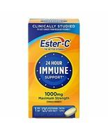 Vitamin C by Ester-C, 24 Hour Immune Support, 1000mg Vitamin C, 120 Coat... - $14.84