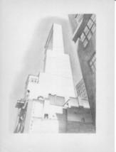 "Art Plate/Print 1939 ""Delmonico Building"" by Charles Sheeler - $8.99"