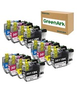GREENARK Compatible Ink Cartridge Replacement for Brother LC3011 LC-3011... - $38.78