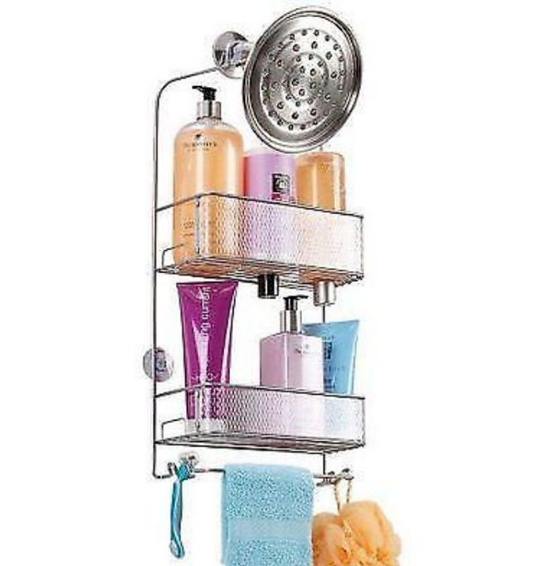 Chapter Dash Shower Caddy, Silver