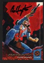 Bo Hampton SIGNED X-Men Art Trading Card ~ Maverick 1994 Fleer Ultra - $16.82