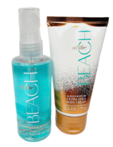 Bath & Body Works AT THE BEACH Travel Size Set Body Cream Fragrance Mist... - $16.82