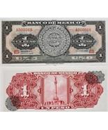 Banco de Mexico Un Peso Calendario Azteca Crisp, Uncirculated  - $1.99