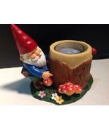 Yankee Candle Gnome Log New No Box - $20.79