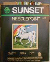 Vintage Sunset Designs Needlepoint Kit The Unic... - $16.39