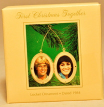 Hallmark: First Christmas Together - Locket - 1984 - Holiday Ornament - $8.61