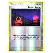 Pokemon TCG Energy Search Trainer 117/130 Diamond Pearl Holo Shiny Card - $1.97