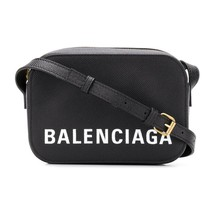 NEW Balenciaga Black Ville Everyday Logo XS Camera Crossbody Shoulder Bag - $828.93