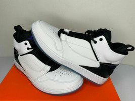NIB SIZES 10 10.5 11 12 MEN Nike Air Jordan Fadeaway Basketball Shoes Wh... - $49.99