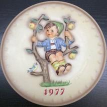 "Goebel - M.J. Hummel 1977 7th Annual Plate ""Apple Tree Boy"" - $19.79"