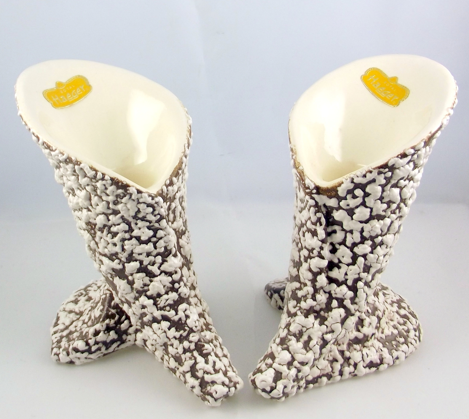 Royal haeger white stone lace calla lily candle holders 1