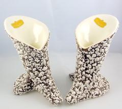 Royal Haeger R 1285 midcentury White Stone Lace... - $30.00