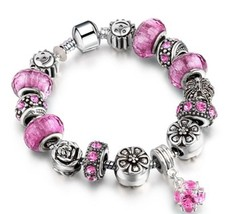 Charm Beads Bracelets Pendant Many Colors Style Jewelry Fashion DISCOUNT... - $8.91