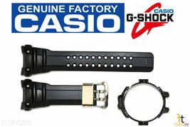 CASIO G-Shock Gulfmaster GWN-1000C-1A Black Rubber Watch Band & Bezel Combo - $91.04