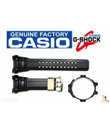 CASIO G-Shock Gulfmaster GWN-1000C-1A Black Rubber Watch Band & Bezel Combo - $91.04
