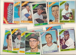 1966 Topps  baseball cards. 39 pc lot. NICE condition-corner wise. - $8.99