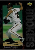1994 Upper Deck Baseball, #27, Salomon Torres, San Francisco Giants, Star Rookie - $0.99