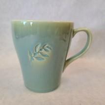 Starbucks 2006 Blue Green Leaf 16oz Mug - $14.84