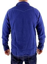 NEW LEVI'S MEN'S LINEN LONG SLEEVE BUTTON UP CASUAL DRESS SHIRT BLUE 8151400 image 2