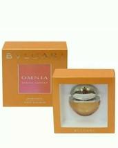 BVLGARI OMNIA INDIAN GARNET 15ml / 0.5 oz. EDT jewel charm spray bottle NIB - $21.99