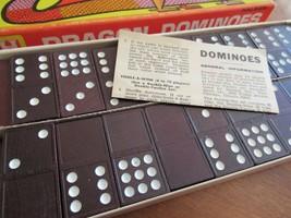 Vintage DRAGON DOMINOES Double Nine Game 1960's Halsam No 920 Complete O... - $21.99