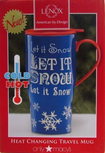 Lenox Home For The Holidays Let It Snow Magic Heat-changing Mug