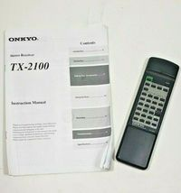 Onkyo Stereo Receiver TX-2100 with Remote and Manual ...Fully Tested image 9