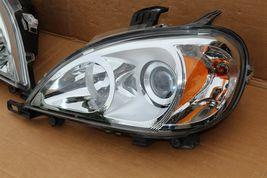 02-05 Mercedes W163 ML320 ML350 ML430 Halogen Projector Headlight Set L&R image 5