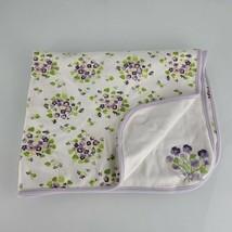 Gymboree Easter 2008 Snappy Dresser Baby Girl Blanket Purple White Green... - $98.99