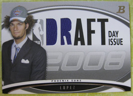 2008-09 Bowman Draft Day Issue Relic Robin Lopez 61/399 - $3.00