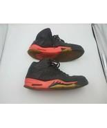 Nike Air Jordan Retro 5 3Lab5 Black/Infrared 23 599581-010 Sz 10.5 V VI ... - $98.99