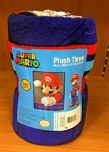 Nintendo Super Mario SNES Video Game Super Plush Throw Blanket - $39.98 CAD