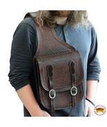 12 X 11 X 3.5 In Horse Western Saddle Bag Leather Shoulder Bag Black U-BSHL - $164.99